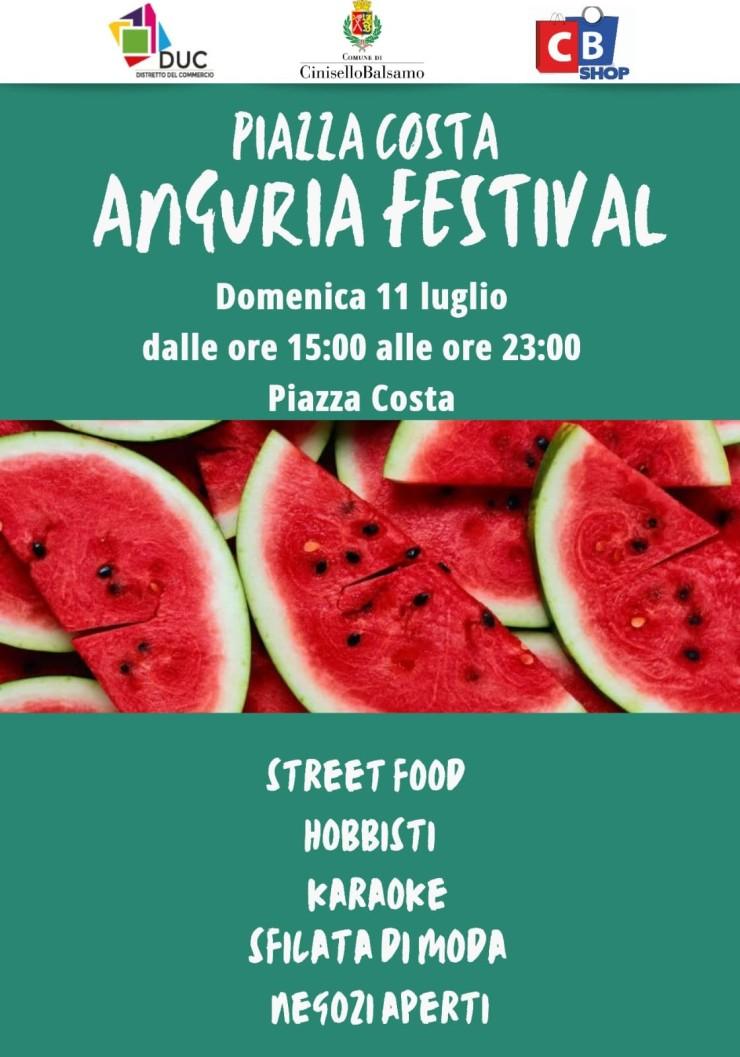 CINISELLO BALSAMO (MI): Anguria Festival 2021