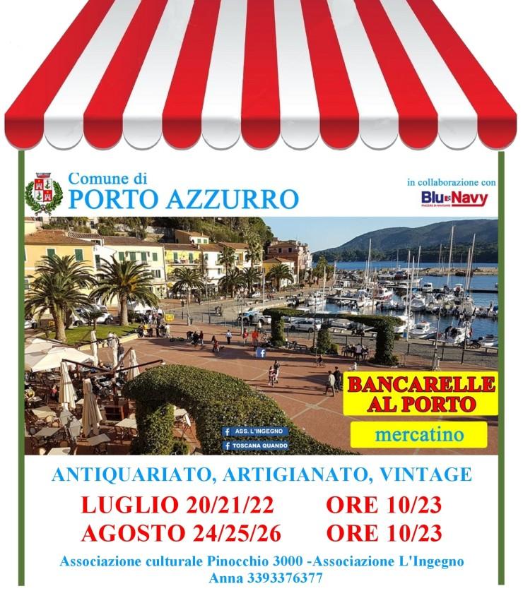 PORTO AZZURRO (LI): Bancarelle al Porto 2021