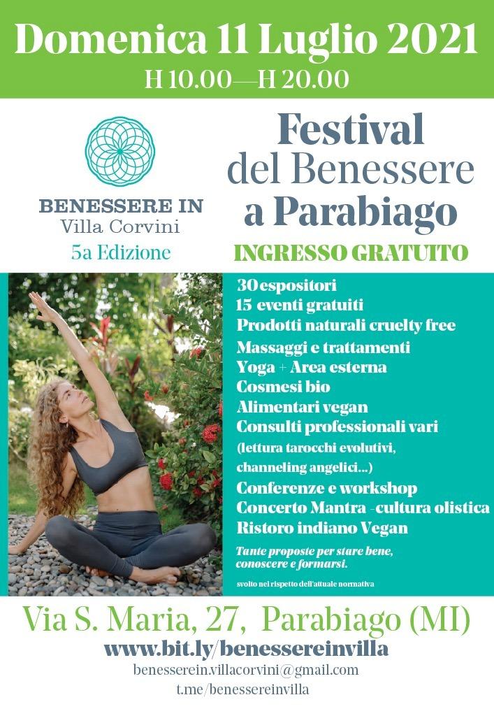 PARABIAGO (MI): Festival del Benessere 2021