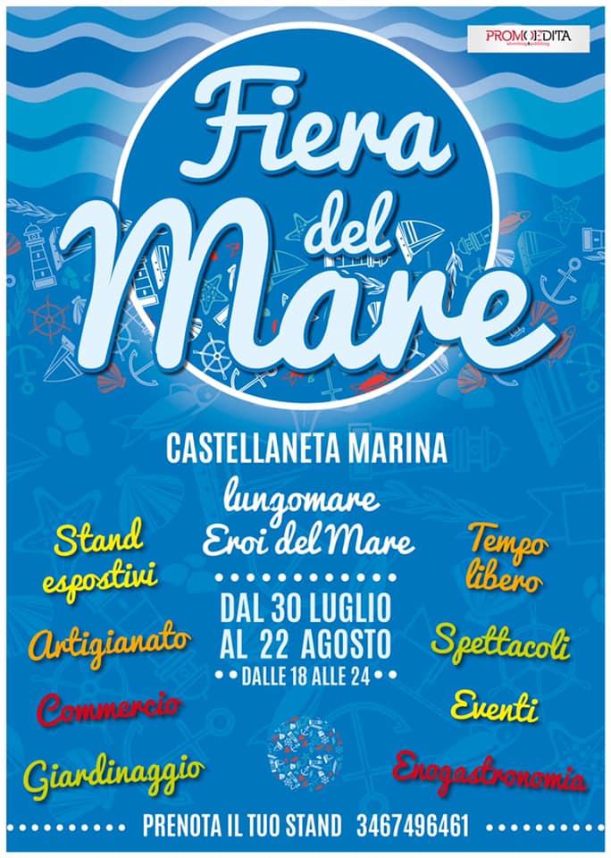 CASTELLANETA (TA): Fiera del Mare 2021 a Castellaneta Marina