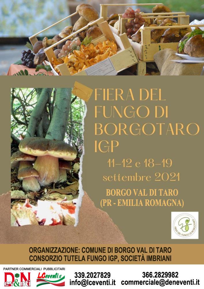BORGO VAL DI TARO (PR): Fiera del Fungo di Borgotaro IGP 2021