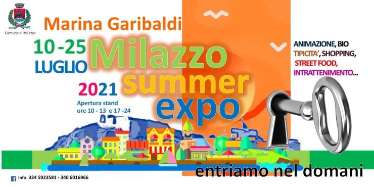 MILAZZO (ME): Milazzo Summer Expo 2021 a Marina Garibaldi