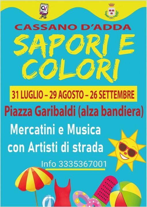 CASSANO D'ADDA (MI): Sapori e Colori 2021