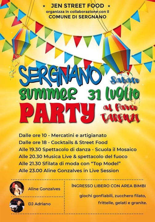 SERGNANO (CR): Sergnano Summer Party 2021