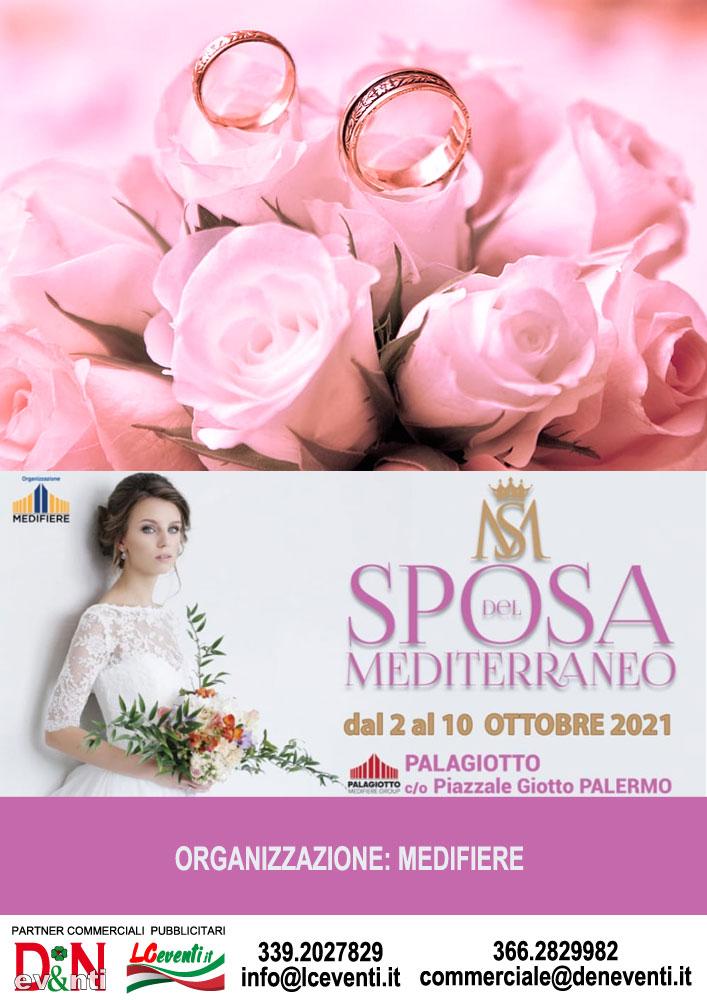 PALERMO (PA): Sposa del Mediterraneo 2021