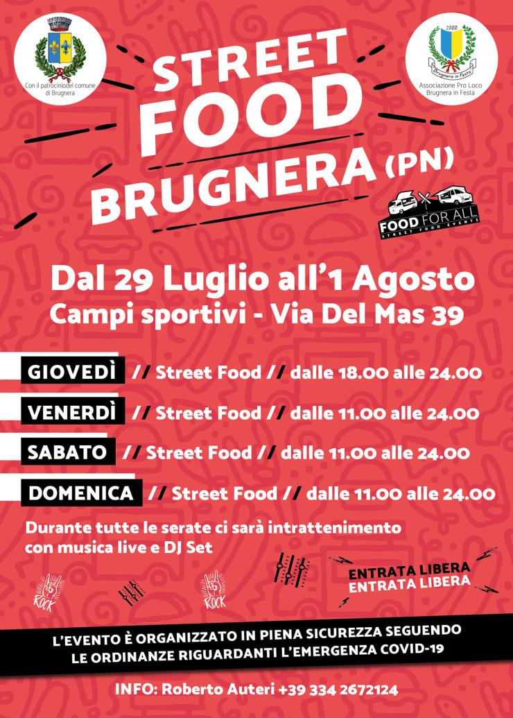 BRUGNERA (PN): Street Food 2021