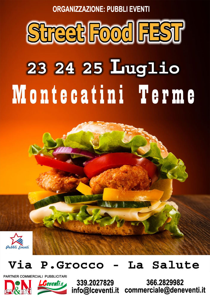MONTECATINI TERME (PT): Street Food Fest 2021