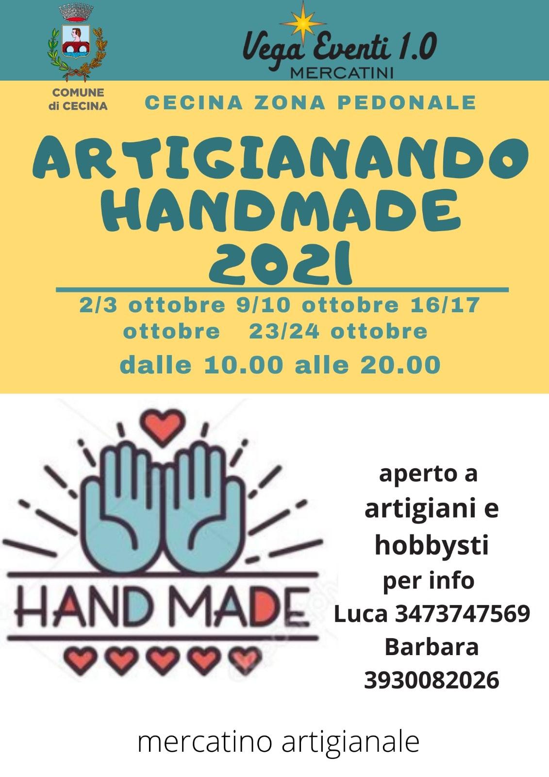 CECINA (LI): Artigianando Handmade 2021