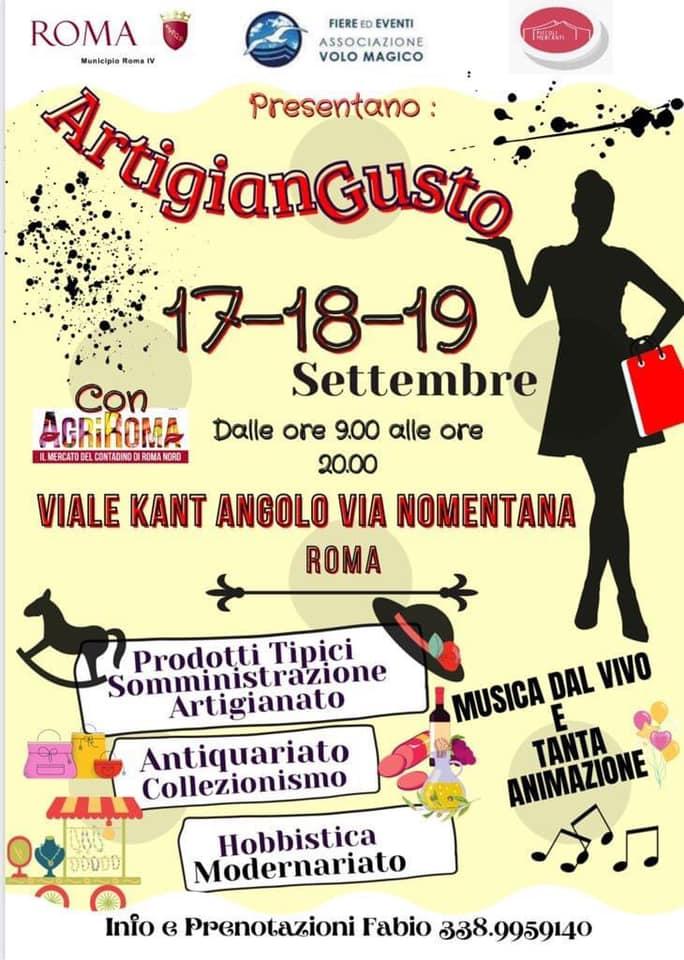 ROMA (RM): Artigiangusto 2021