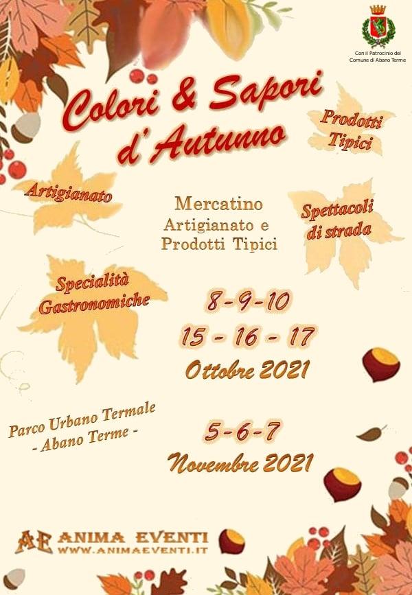 ABANO TERME (PD): Colori & Sapori d'Autunno 2021