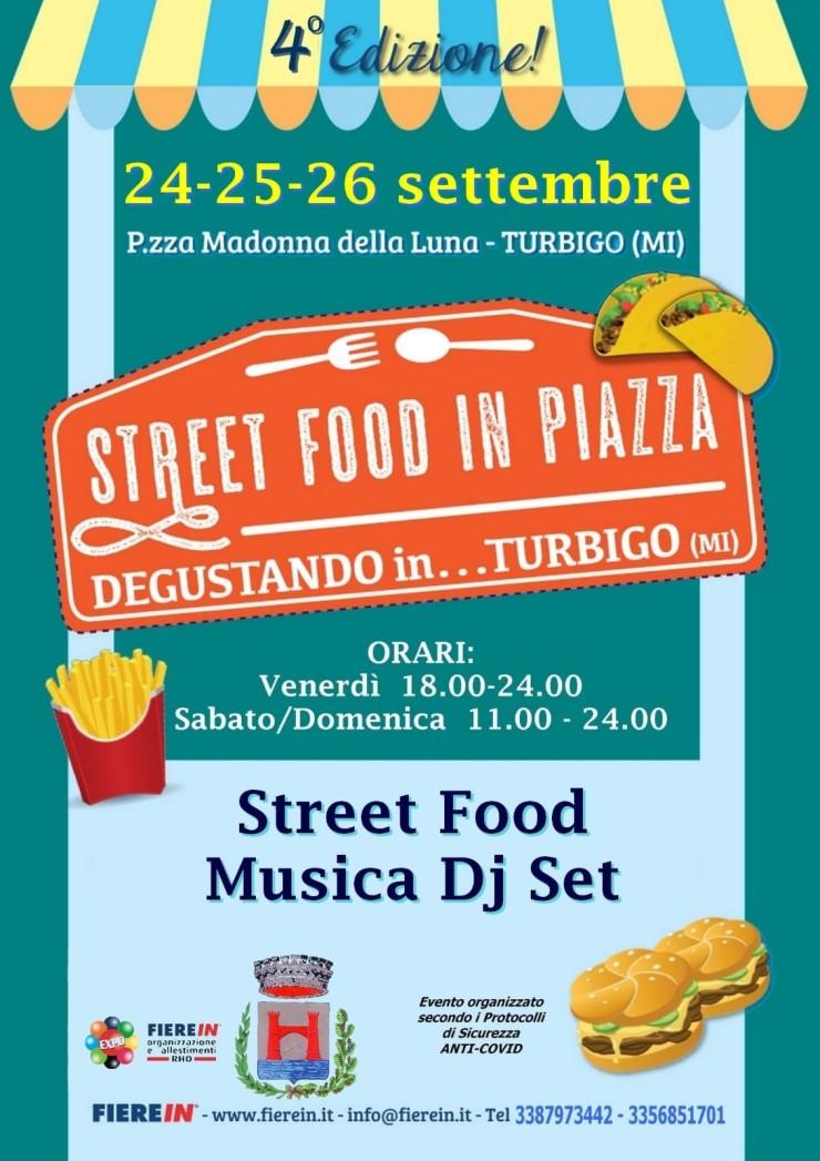 TURBIGO (MI): Degustando in Turbigo 2021 - Street Food in piazza