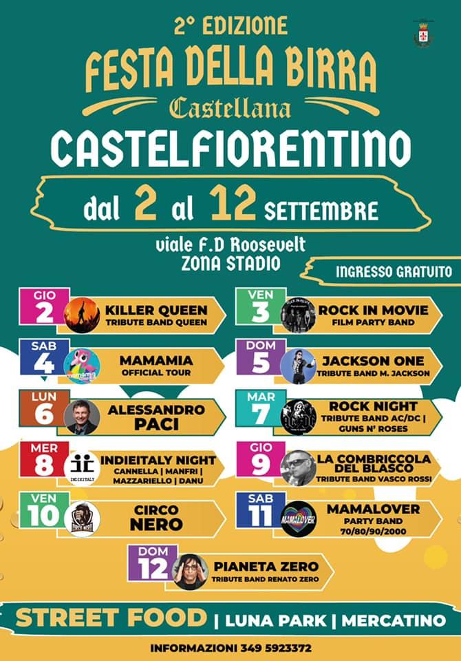 CASTELFIORENTINO (FI): Festa della Birra Castellana 2021