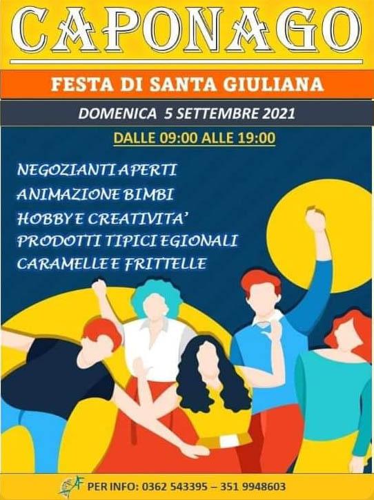 CAPONAGO (MB): Festa di Santa Giuliana 2021