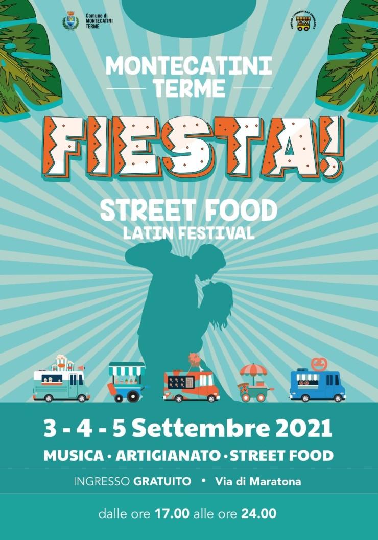 MONTECATINI TERME (PT): Fiesta 2021 - Street Food Latin Festival