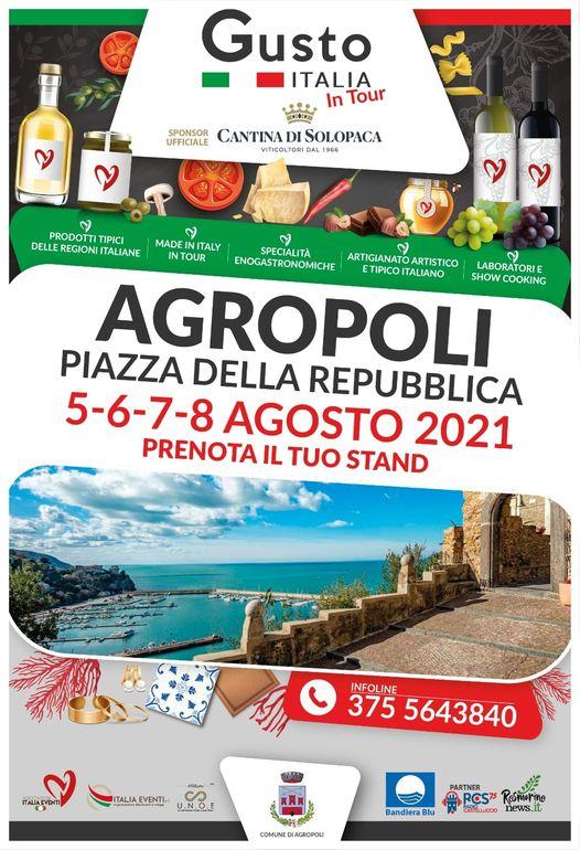 AGROPOLI (SA): Gusto Italia in Tour 2021
