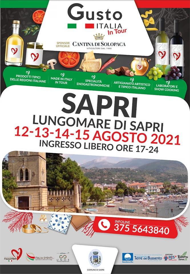SAPRI (SA): Gusto Italia in Tour 2021