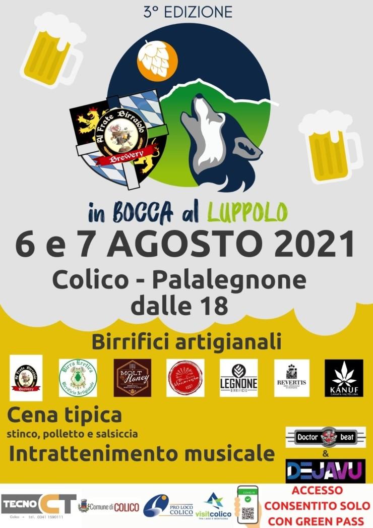 COLICO (LC): In Bocca al Luppolo 2021
