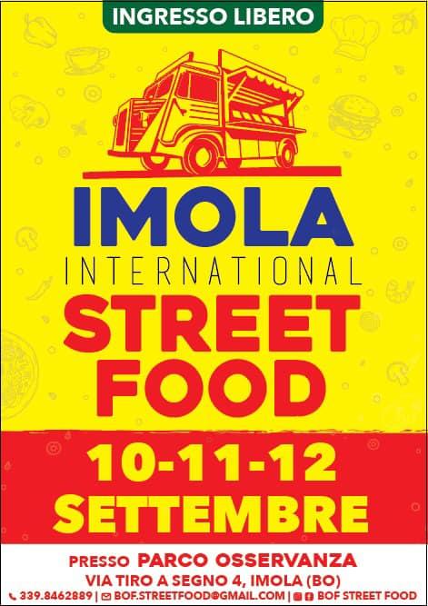 IMOLA (BO): International Street Food 2021