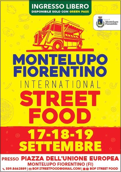 MONTELUPO FIORENTINO (FI): International Street Food 2021