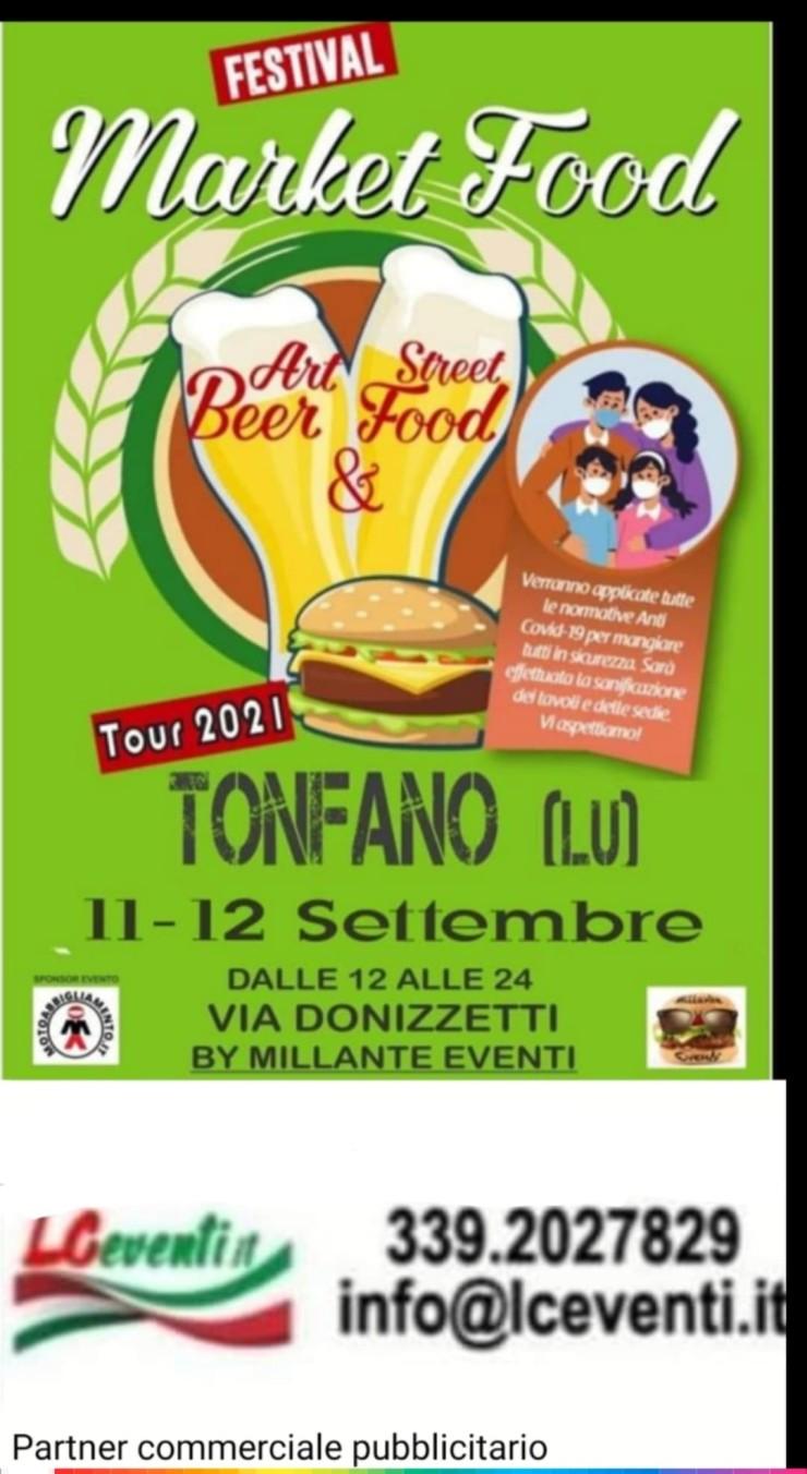 TONFANO (LU): Market Food Festival 2021