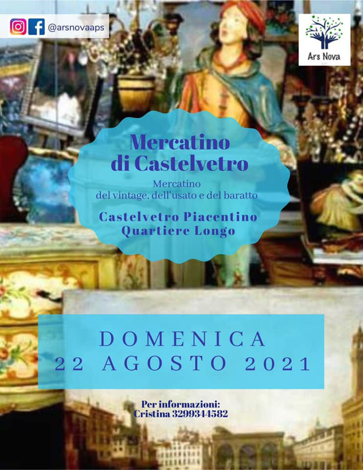 CASTELVETRO PIACENTINO (PC): Mercatino di Castelvetro 2021