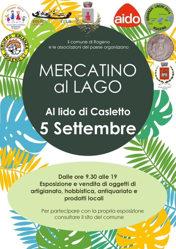 ROGENO (LC): Mercatino di Lago 2021