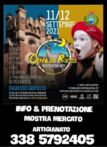 MONTECATINI TERME (PT): Oltre la Rocca 2021 a Montecatini Alto