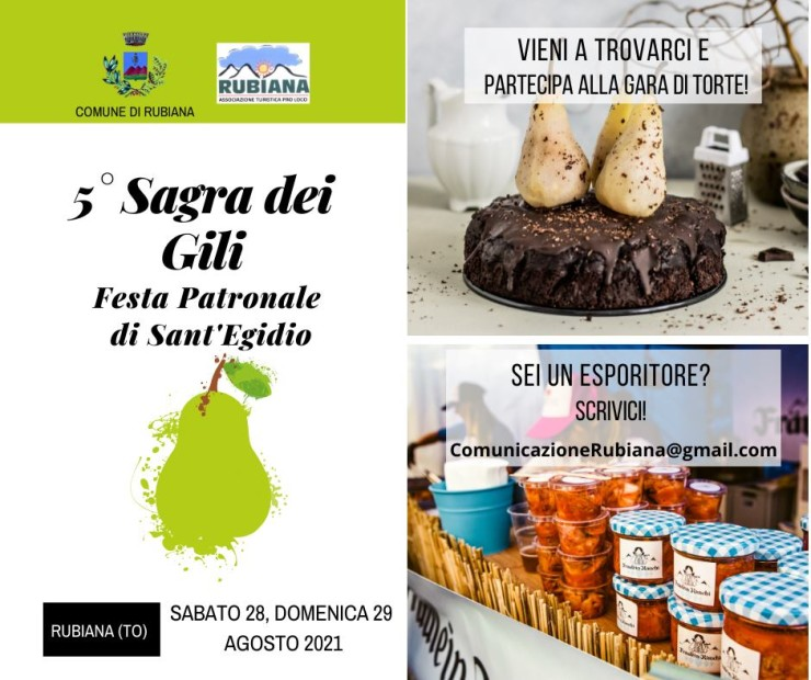 RUBIANA (TO): Sagra di Sant'Egidio 2021