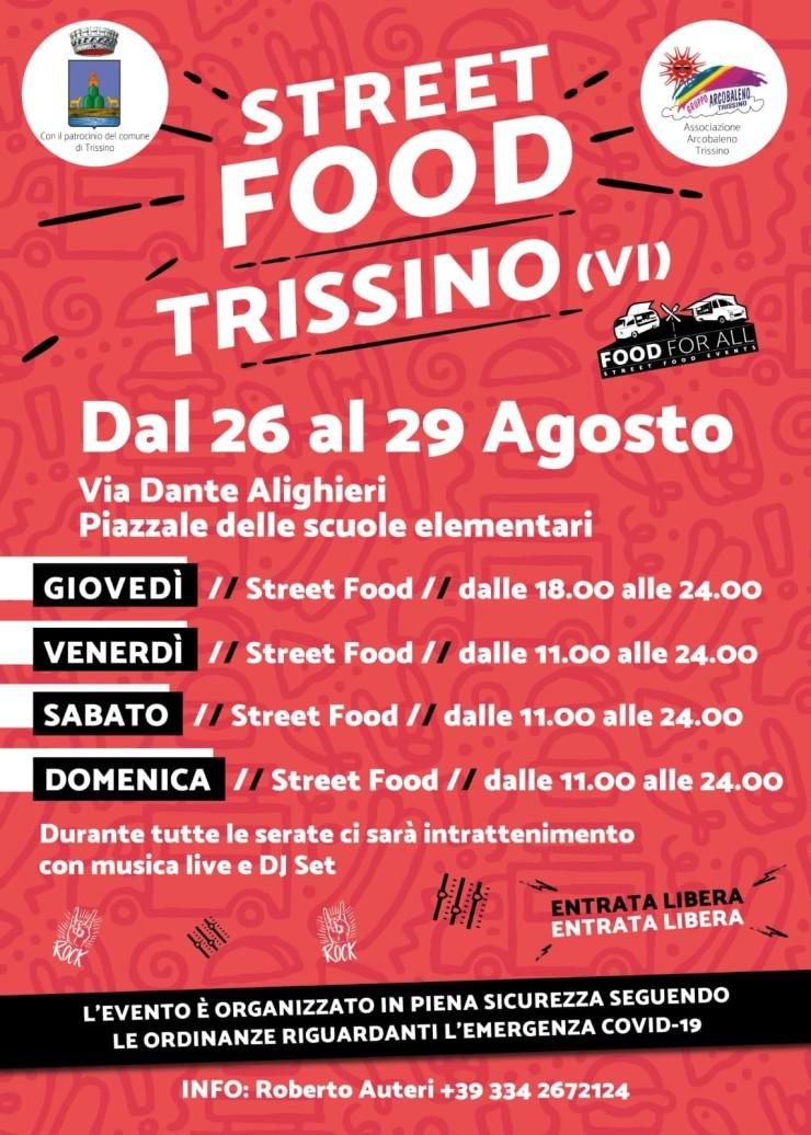 TRISSINO (VI): Street Food 2021