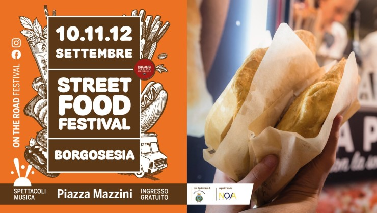 BORGOSESIA (VC): Street Food Festival 2021