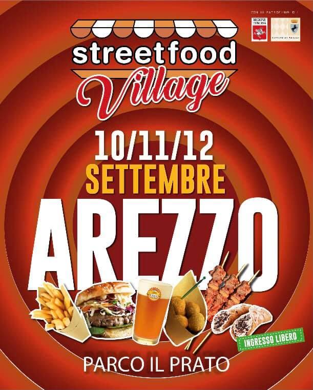 AREZZO (AR): Street Food Village 2021