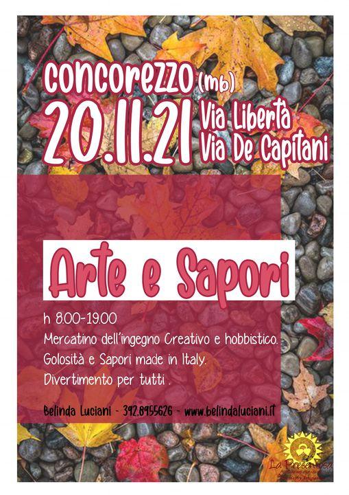 CONCOREZZO (MB): Arte e Sapori 2021