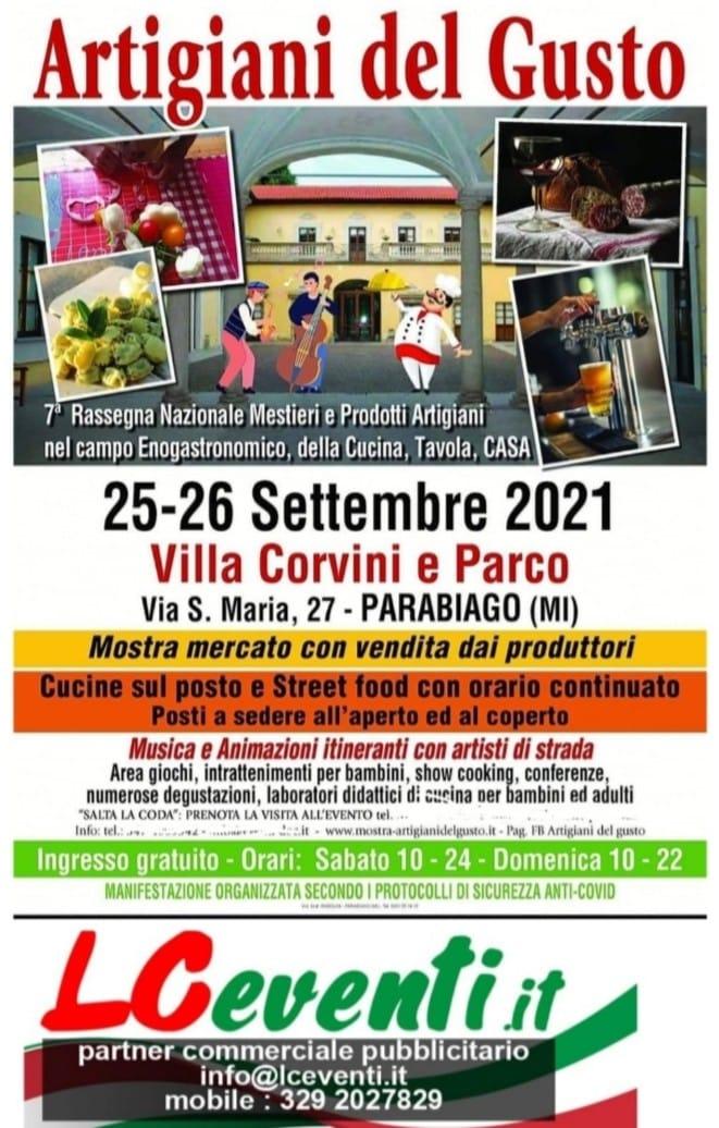 PARABIAGO (MI): Artigiani del Gusto 2021