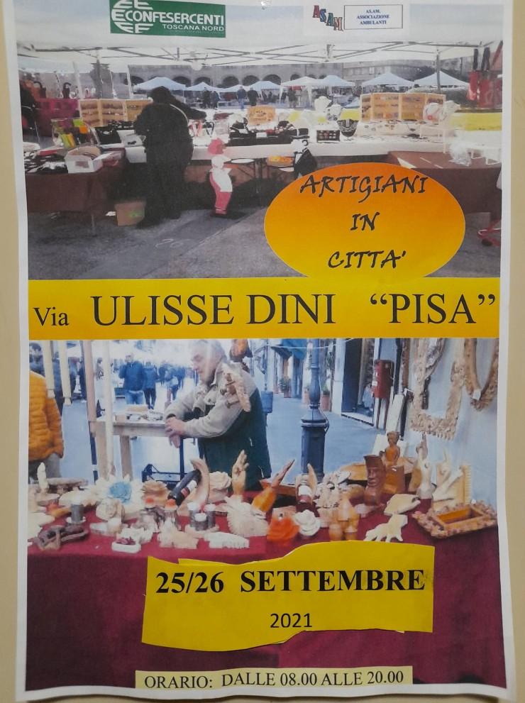 PISA: Artigiani in Città 2021