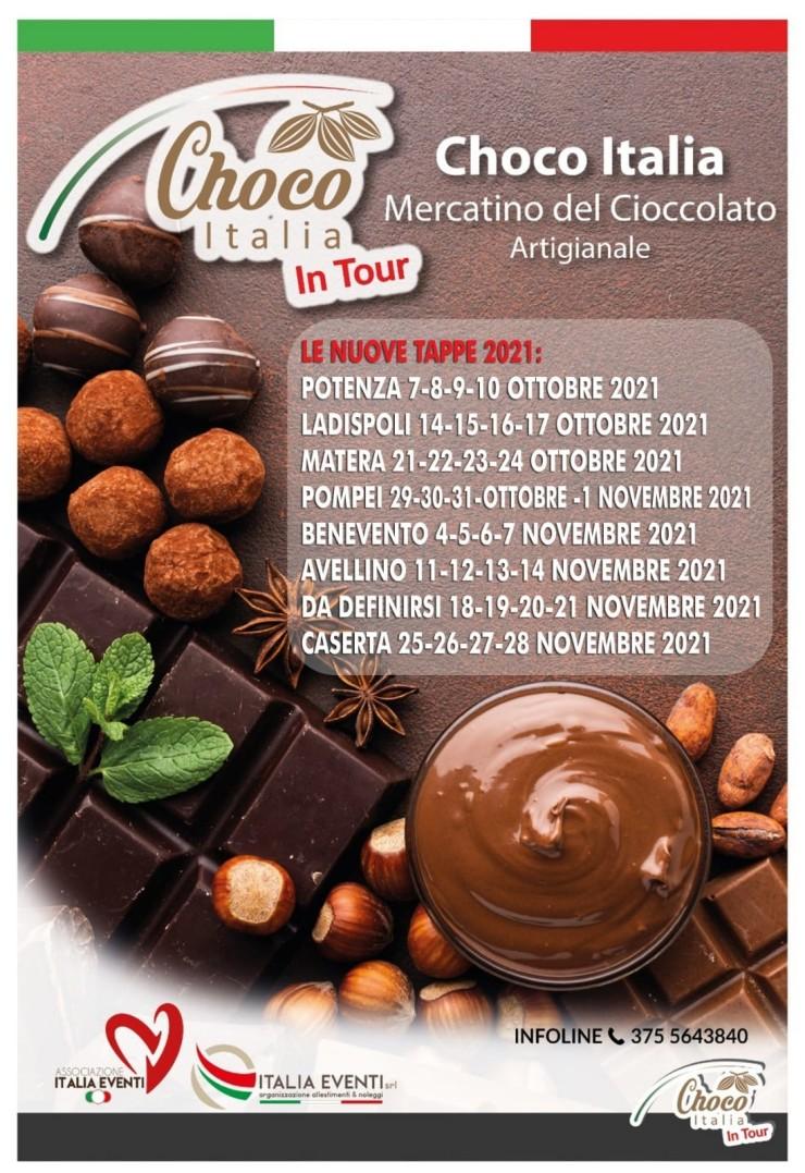 AVELLINO (AV): Choco Italia in Tour 2021
