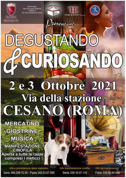 CESANO (RM): Degustando & Curiosando 2021