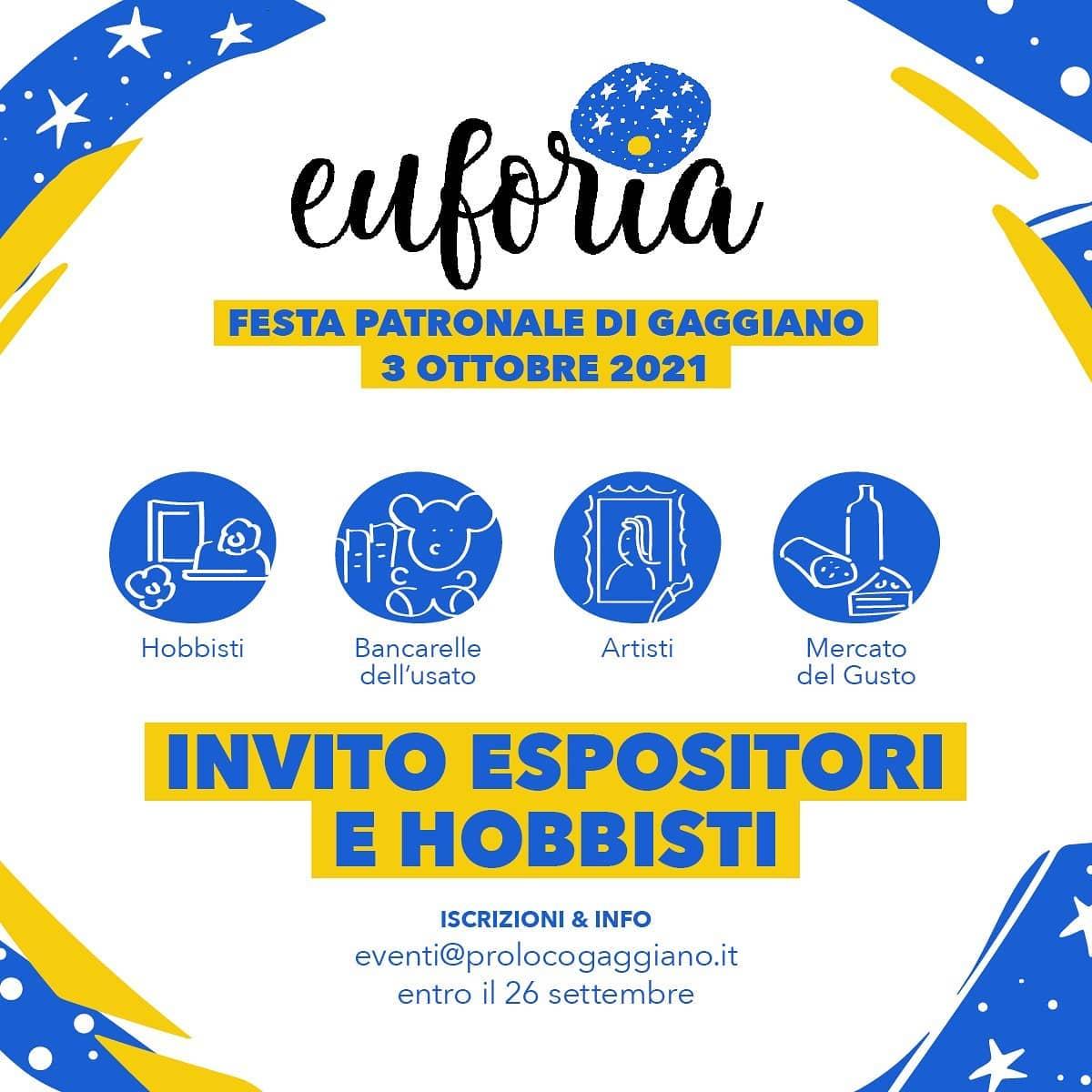 GAGGIANO (MI): Euforia - Festa patronale di Gaggiano 2021