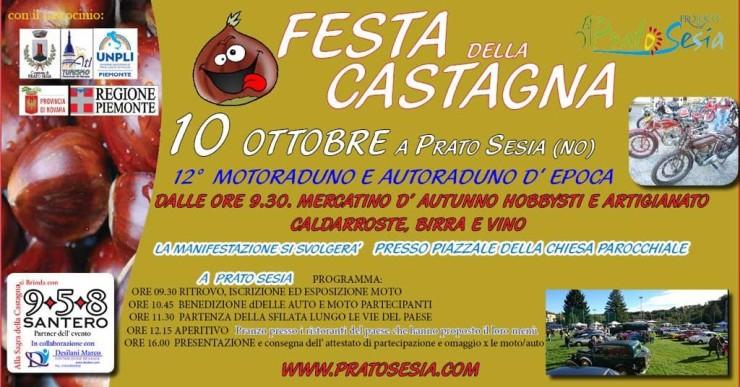 PRATO SESIA (NO): Festa della Castagna 2021