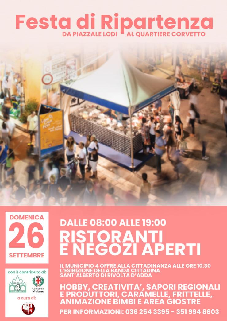 MILANO: Festa di Ripartenza 2021