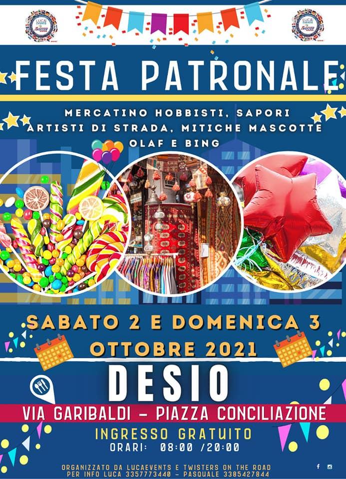 DESIO (MI): Festa patronale 2021