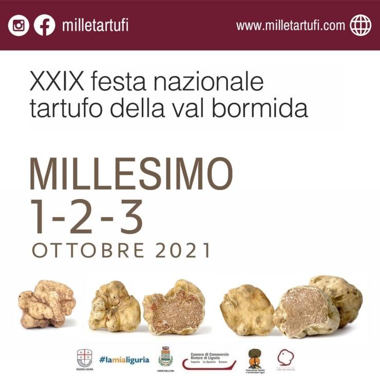 MILLESIMO (SV): Festa nazionale Tartufo della Val Bormida 2021