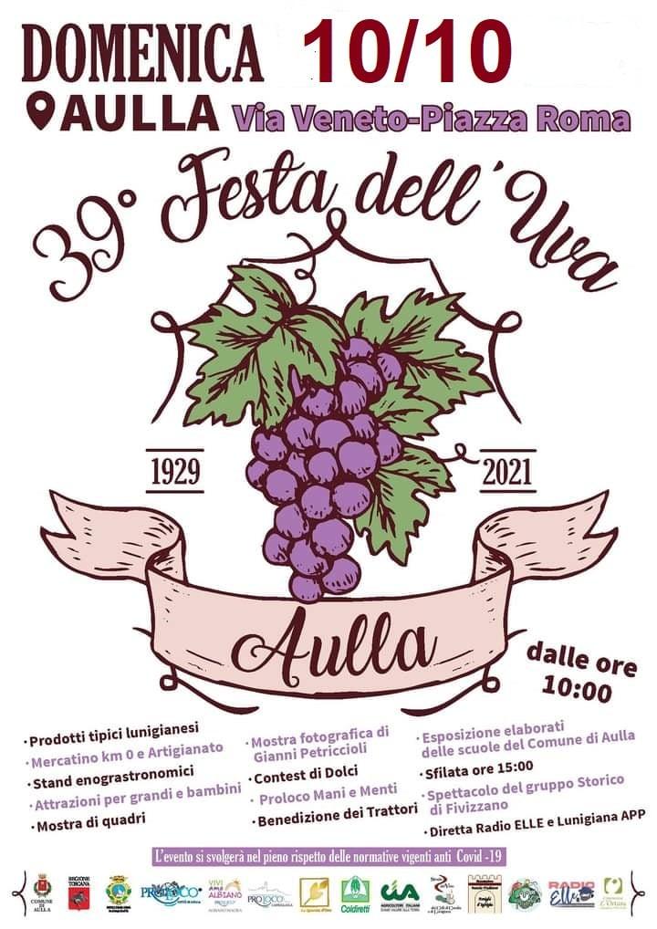 AULLA (MS): Festa dell'uva 2021