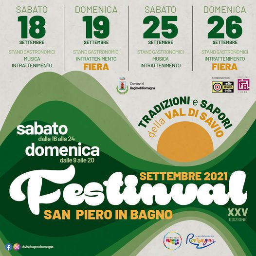BAGNO DI ROMAGNA (FC): Festinval 2021 a San Piero in Bagno