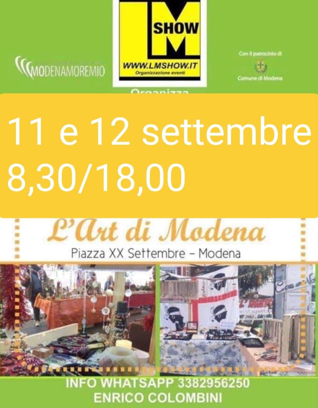 MODENA: L'Art di Modena 2021