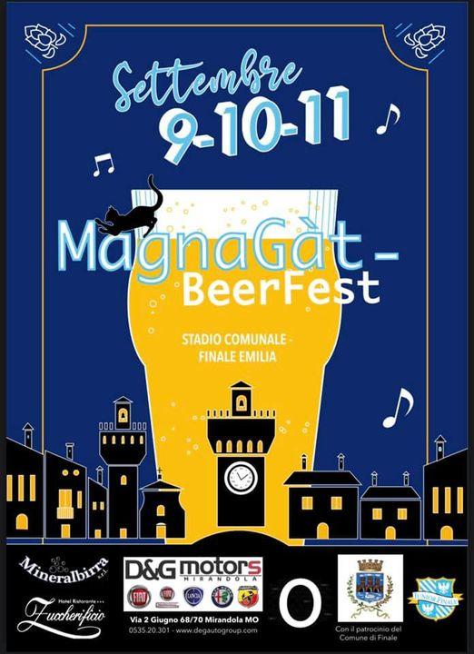 FINALE EMILIA (MO): Magnagat Beer Festival 2021