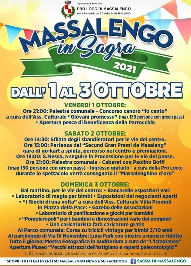 MASSALENGO (LO): Massalengo in Sagra 2021