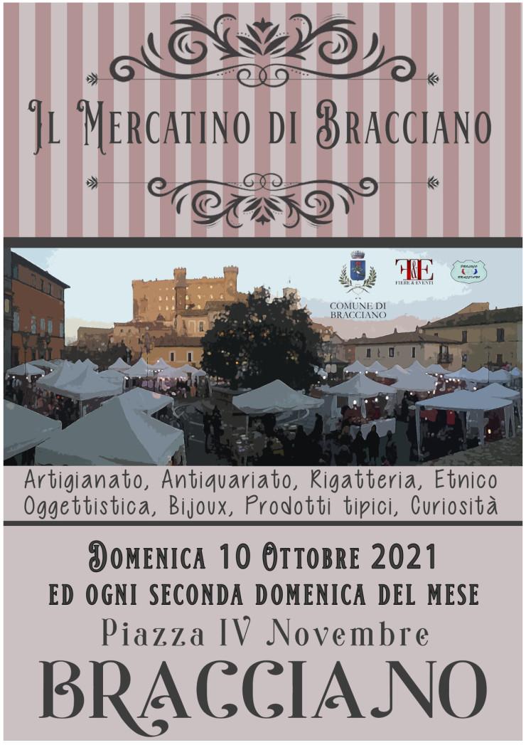 BRACCIANO (RM): Il mercatino di Bracciano