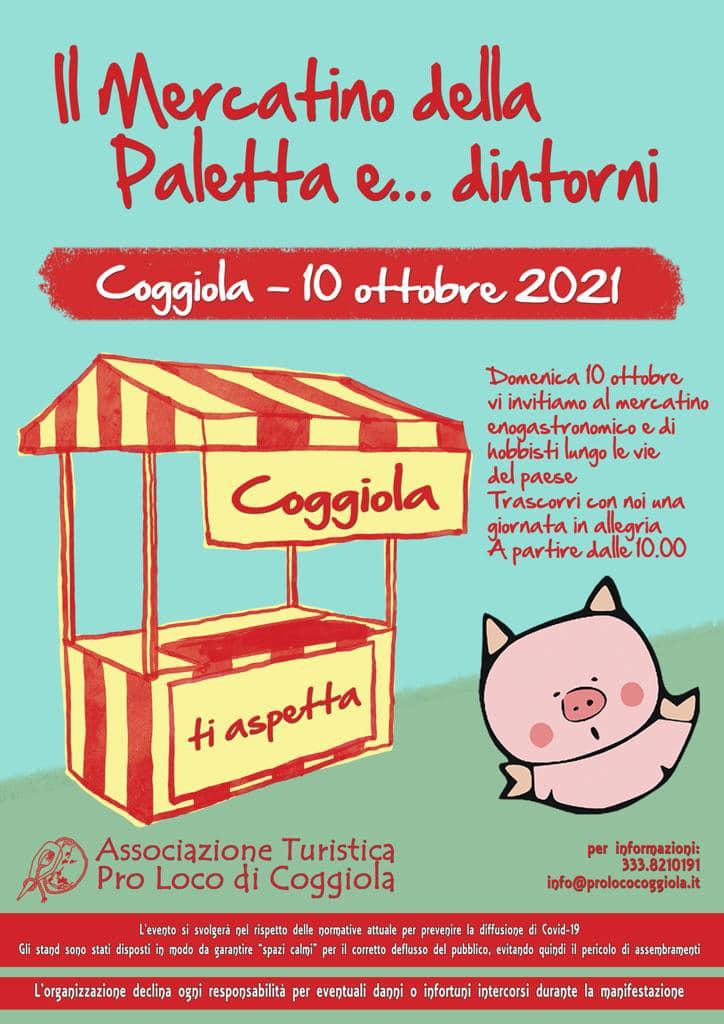 COGGIOLA (BI): Il Mercatino della Paletta... e dintorni 2021