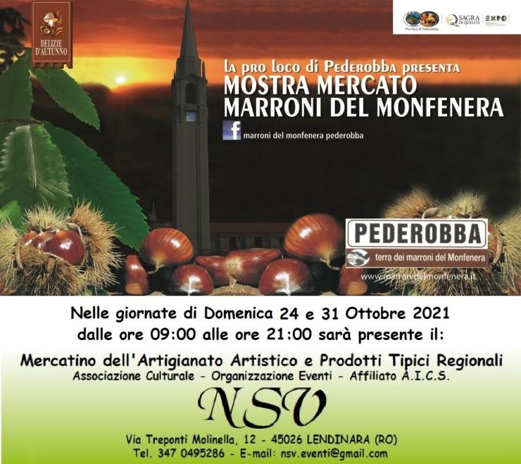 PODEROBBA (TV): Mostra mercato Marroni del Monfenera 2021