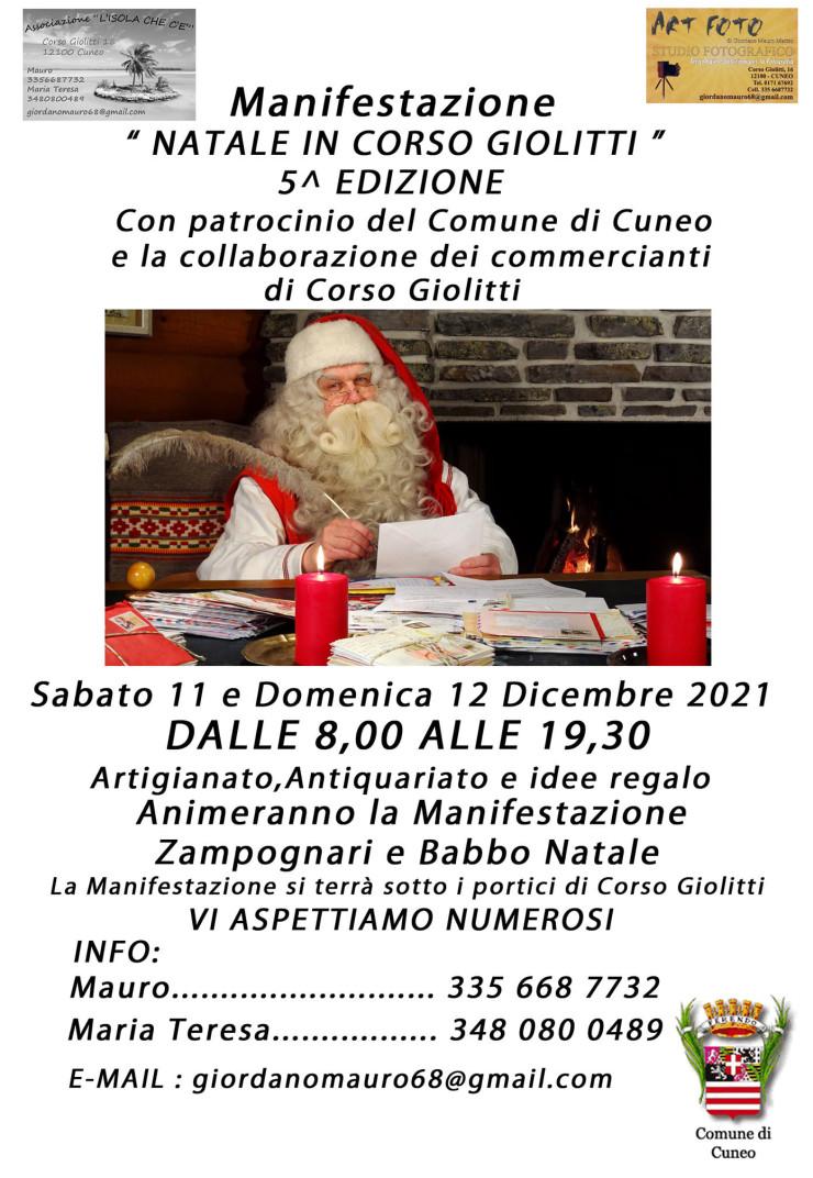 CUNEO (CN): Natale in Corso Giolitti 2021